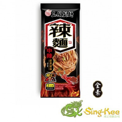 Shan Feng Noodles – Hot Dry Noodles with Sichuan Pepper 240g