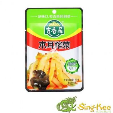 Ji Xiang Ju Sliced Preserved Vegetables With Black Fungus 66g