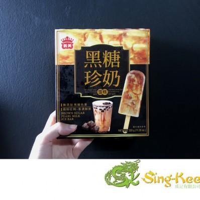 Imei Brown Sugar Pearl Milk Ice Bar 4 Pieces 320g