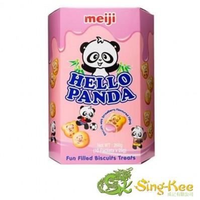 Meiji Hello Panda Biscuits - Strawberry 260g