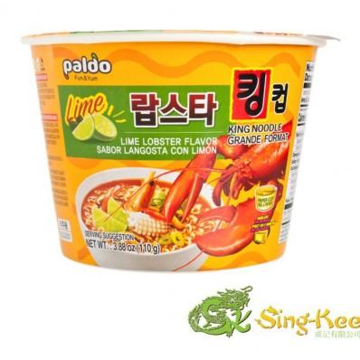 Paldo King Noodle Lime Lobster Flavour (Bowl) 110g