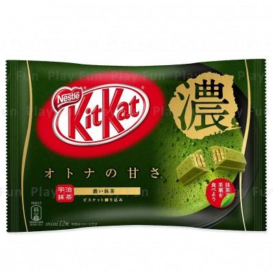 KITKAT Strong Matcha Flavour Chocolate 135.6g