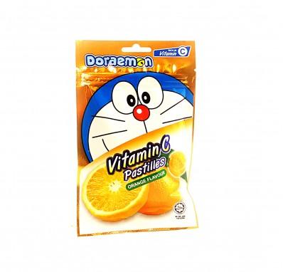 DORAEMON Vitamin C Pastilles - Orange Flavour 40g