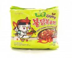 SAMYANG Jjajang Hot Chicken Flavour Ramen (5 x 140g) 700g
