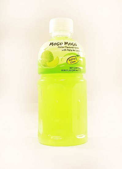 MOGU MOGU Melon Flavoured Drink with Nata de Coco 320ml