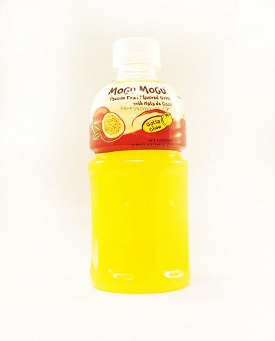 MOGU MOGU Passion Fruit Flavoured Drink with Nata de Coco 320ml
