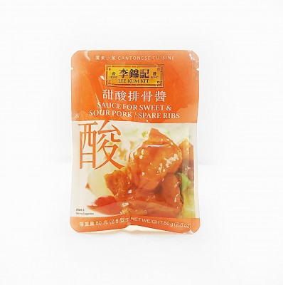 LEE KUM KEE Sauce for Sweet & Sour Pork/Spare Ribs 80g