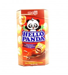 MEIJI Hello Panda Biscuits with Chocolate Flavoured Filling 50g