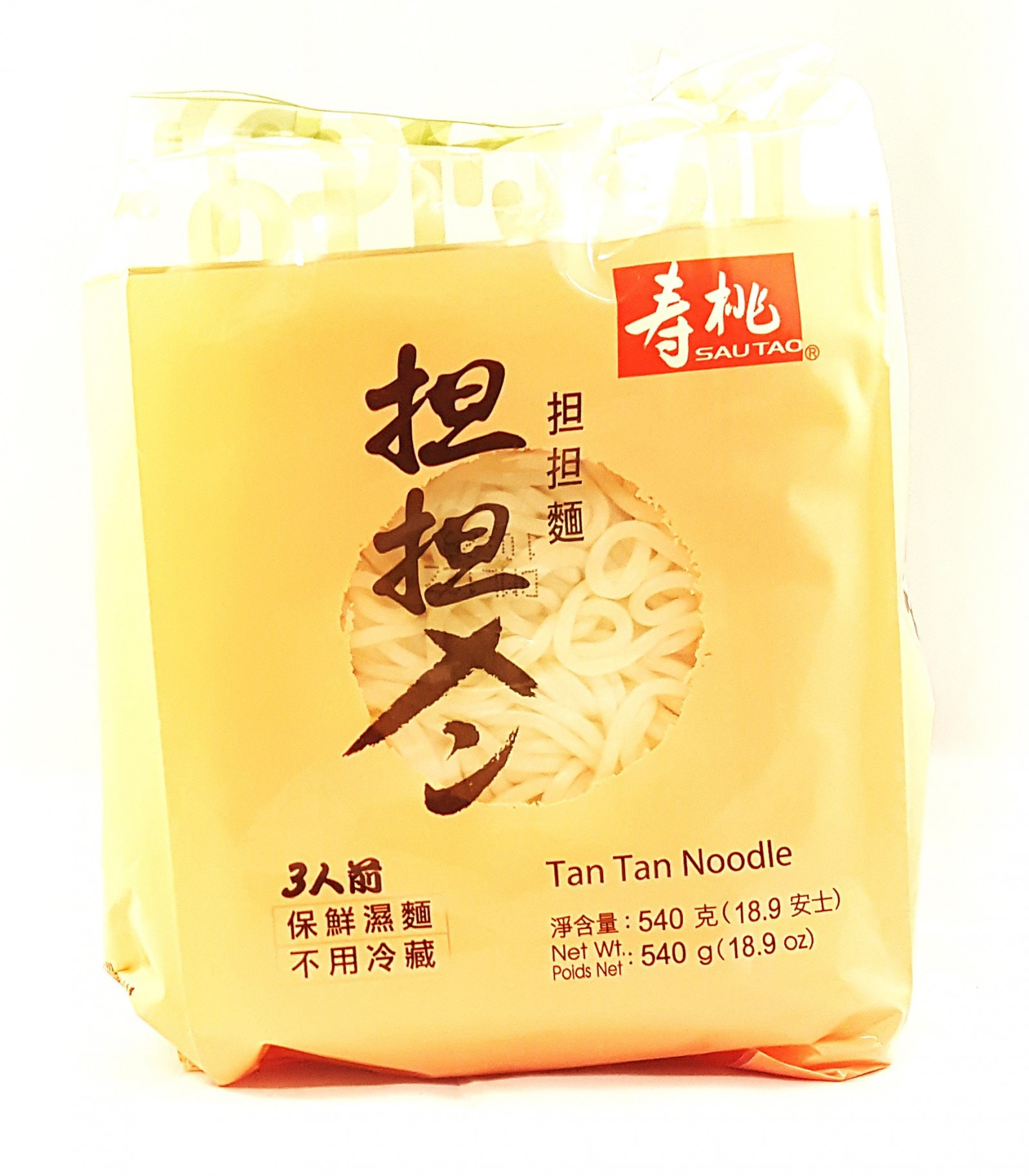 SAU TAO Tan Tan Noodle 540g - Sing Kee