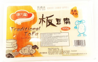 ORIENTAL DRAGON Traditional Tofu 800g