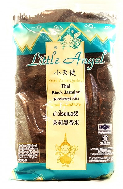 LITTLE ANGEL Thai Black Jasmine (Riceberry) Rice 1kg