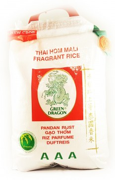 GREEN DRAGON Thai Hom Mali Fragrant Rice