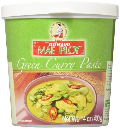 Mae Ploy Green Curry Paste 400g Sing Kee