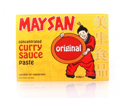MAYSAN Concentrated Curry Sauce Paste - Original 448g