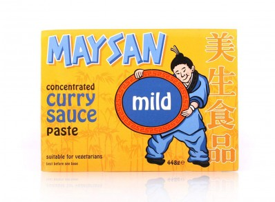 MAYSAN Concentrated Curry Sauce Paste - Mild 448g