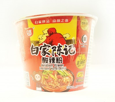 BAI JIA Hot and Sour Flavour Noodles 105g