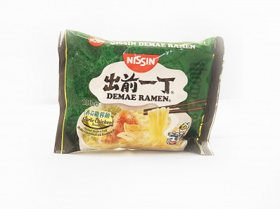 NISSIN Demae Ramen Garlic Chicken Flavour 100g