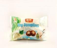 FRESHASIA Veg Dumplings - Bok Choy & Mushroom Dumplings 450g