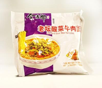 JML Hot & Sour Beef Flavour Noodles - Packet 121g