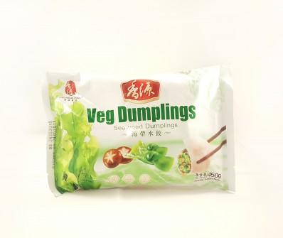FRESHASIA Veg Dumplings - Seaweed Dumplings 450g