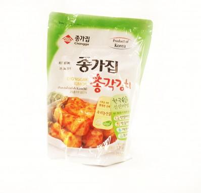 CHONGGA Chonggak Kimchi (Ponytail Radish Kimchi) 500g