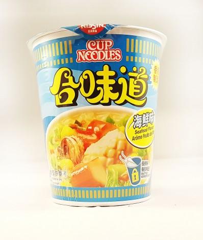 NISSIN Cup Noodles Seafood Flavour 75g