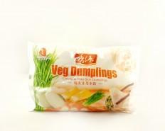 FRESHASIA Veg Dumplings - Chives & Tofu Skin Dumplings 450g