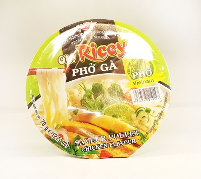 OH! RICEY Chicken Flavour Rice Noodles 70g