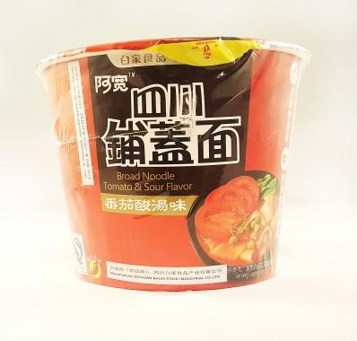 BAI JIA Tomato & Sour Flavour Noodles 120g