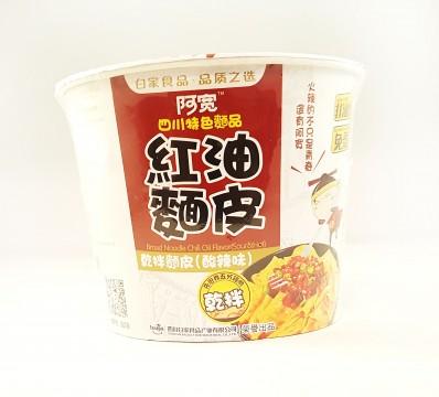 BAI JIA Chilli Oil Sour & Hot Flavour Noodle 115g