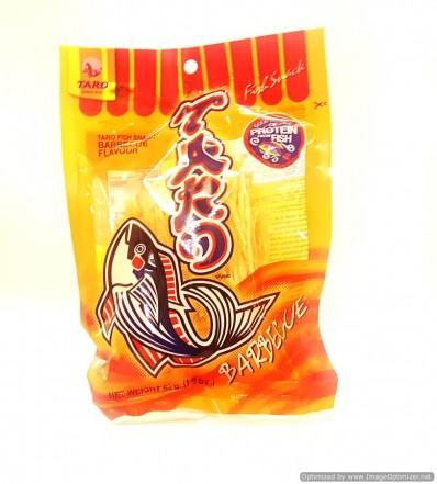 TARO Fish Snack Barbecue Flavoured 52g