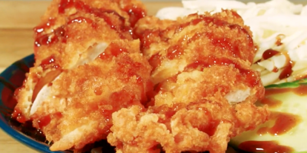 Our chicken katsu two-way recipe