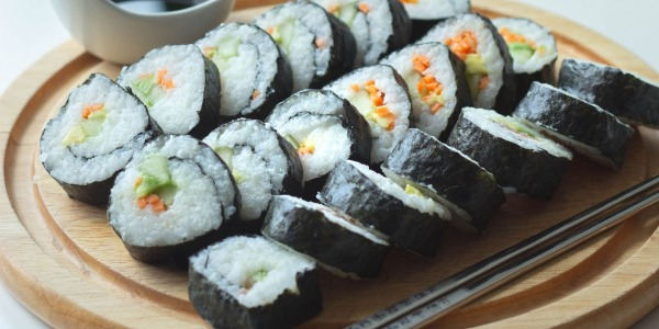 Sing Kee Foods' Vegan Sushi Recipe