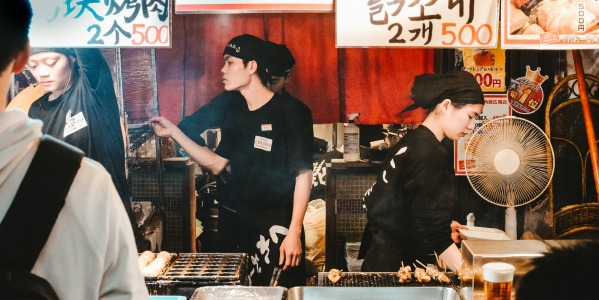 The best Japanese street food